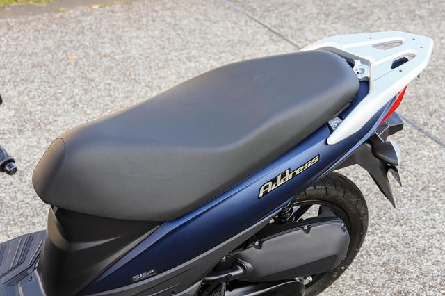 画像3: アドレス110は『足を上げる』のがラクなバイク!