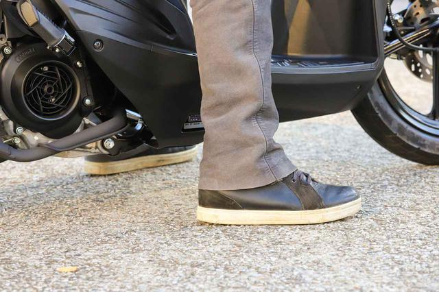 画像2: アドレス110は『足を上げる』のがラクなバイク!
