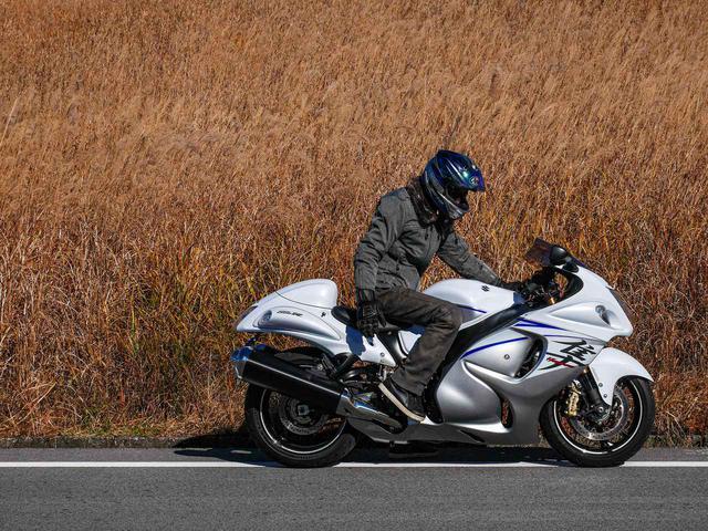 画像2: スズキの隼(ハヤブサ)に『乗ってて良かった』と思う⑩のこと【その⑩】