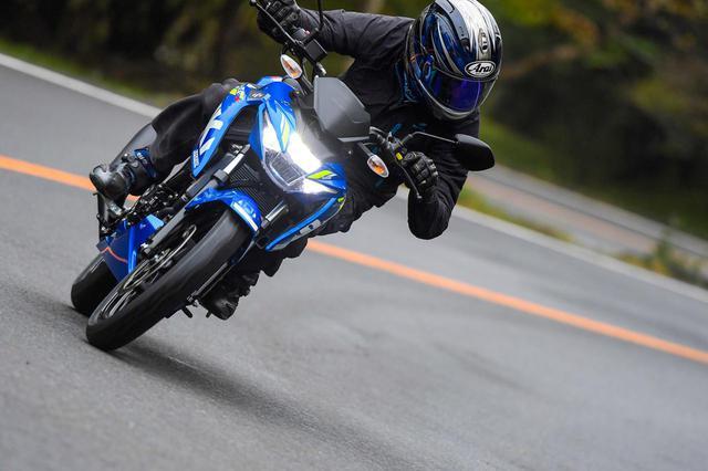画像: 峠ならスズキ『R』よりもネイキッドの『S』のほうが多くを学べる! 原付二種/125ccのパワーを使い切りやすい! - スズキのバイク!