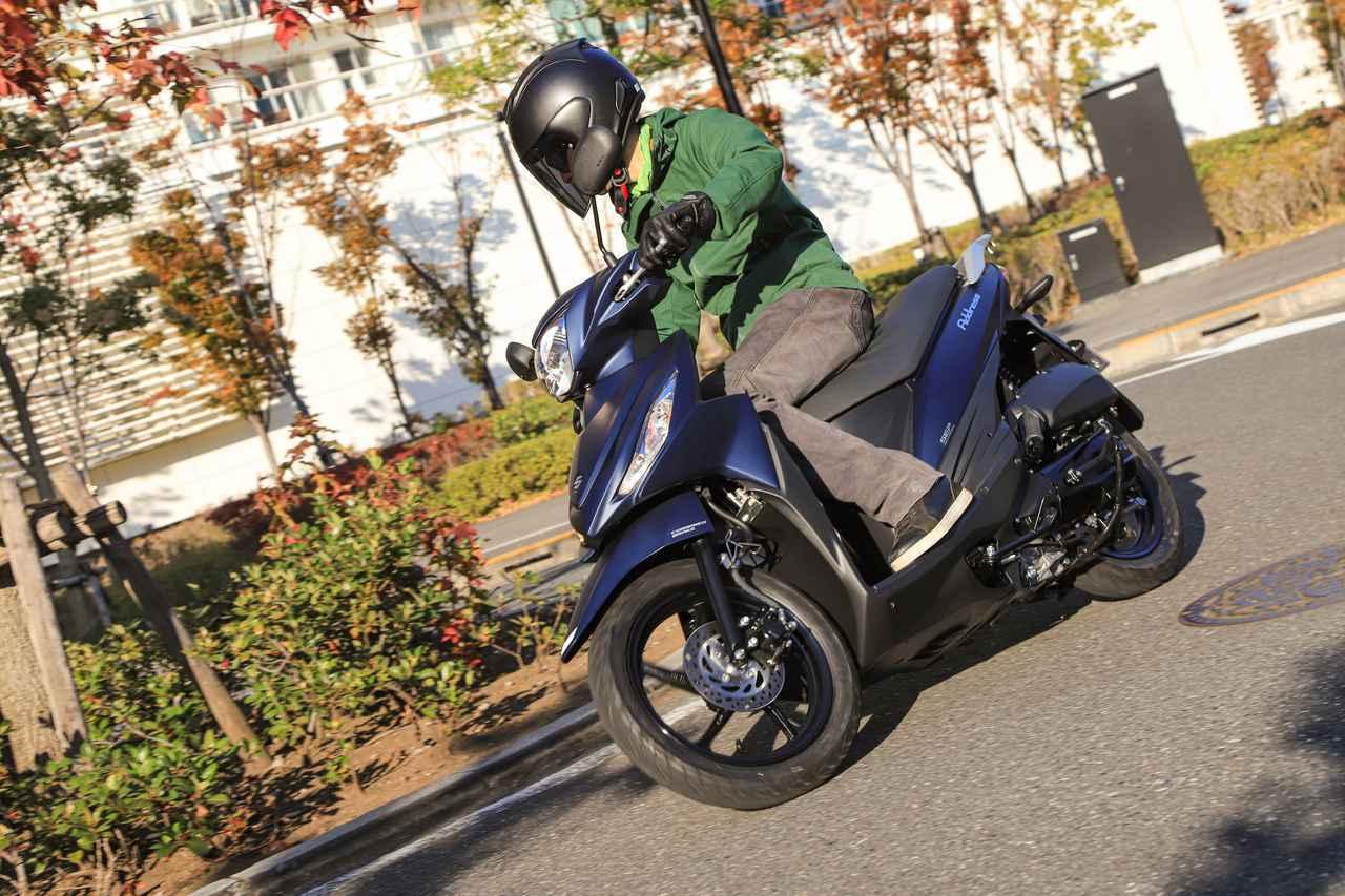 画像: 【エンジン編】まさかの味わい……スズキの原付二種スクーター『アドレス110』のエンジン特性が、走っていてチョット楽しい! - スズキのバイク!