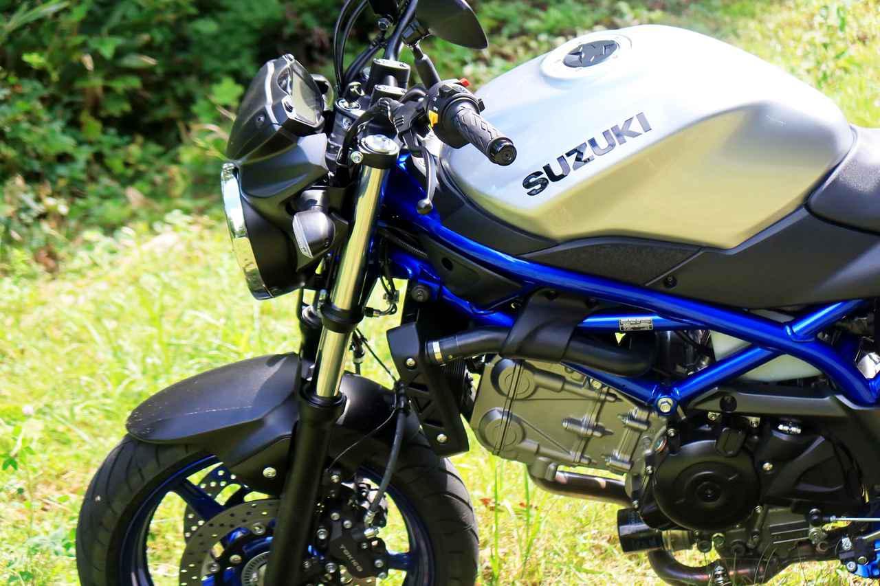 画像: 『バイクは1台だけ!』ならSV650は最有力候補! 通勤にも使いやすい希少な大型バイク! - スズキのバイク!