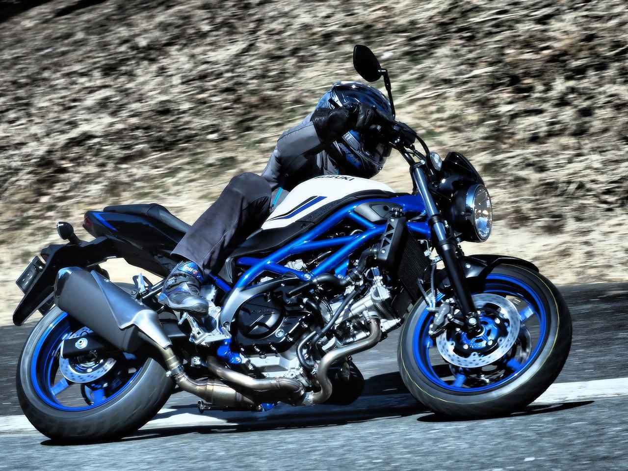 画像: 地味にスゴい! 『SV650』がブレーキ進化で、けっこう変わった!? - スズキのバイク!