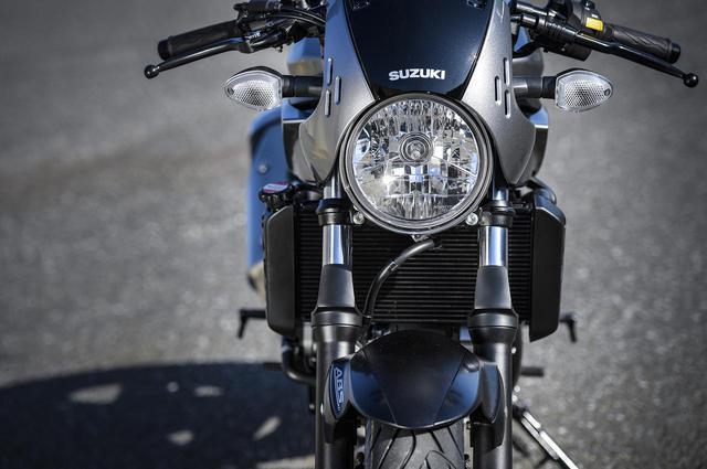 画像2: 大型バイクを、もっと気軽にするSV650X