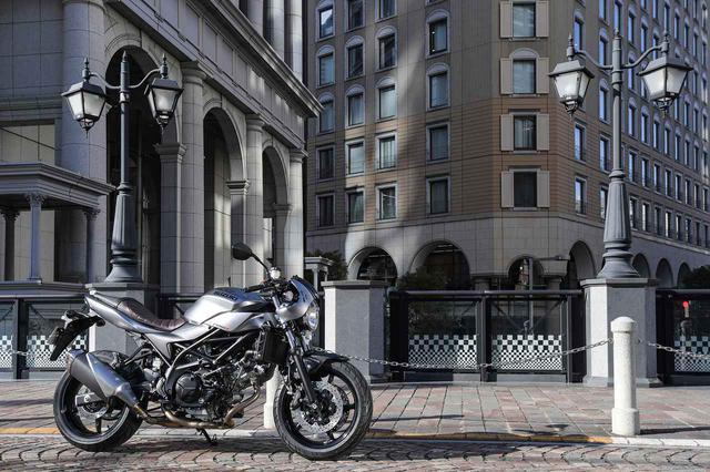 画像1: 大型バイクを、もっと気軽にするSV650X