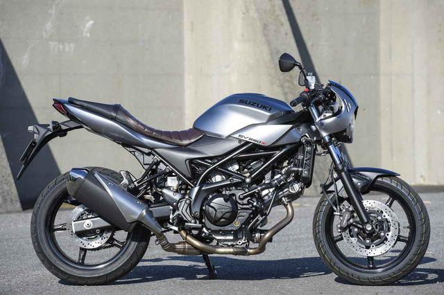 画像: SV650Xには250ccや400ccバイクみたいな気軽さがある