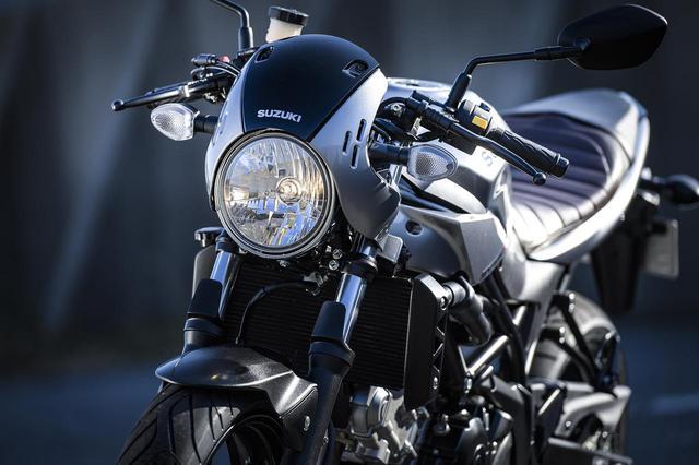 画像3: そこで活きる『SV650X』というバイク