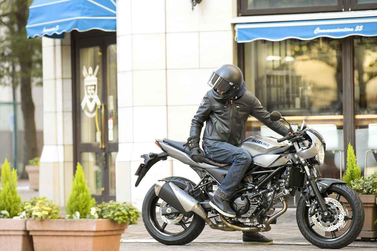 画像1: すべてのパパライダーにスズキ『SV650X』をおすすめしたい。走るだけじゃない、大型バイクの遊びかた! - スズキのバイク!