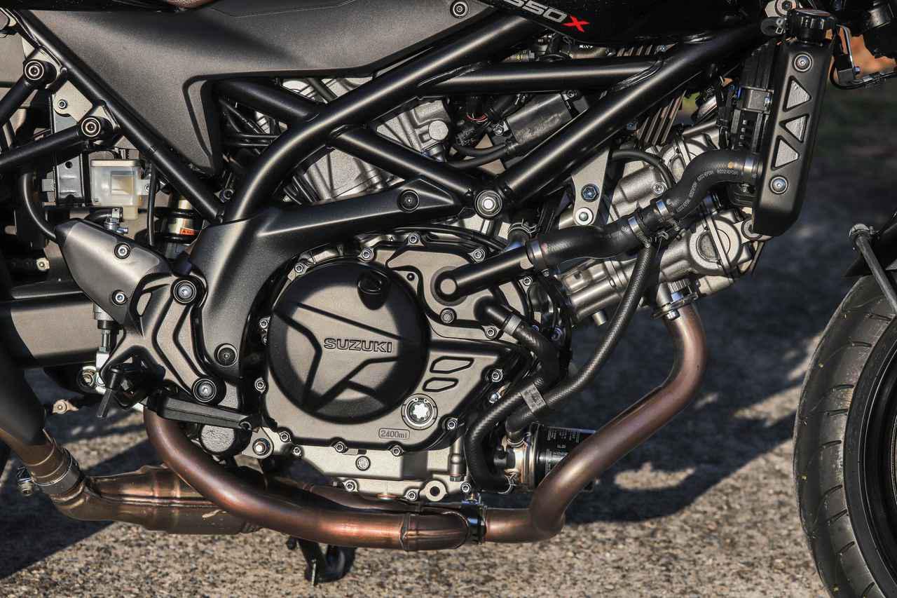 画像2: 650ccだからといって『SV650X』にパワー不足は一切ない
