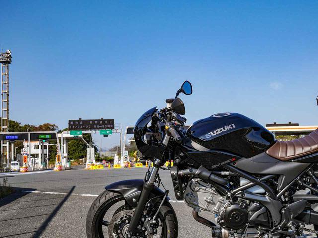 画像1: 前傾姿勢でも高速道路は案外ツラくない