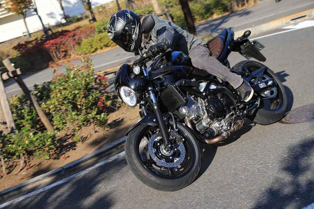 画像3: セパハンのバイクは『ゆっくり走る』のが苦手分野