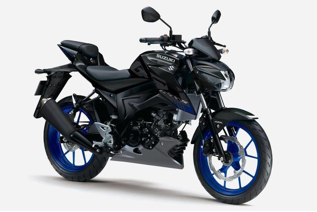 画像1: スズキ『GSX-S125 ABS』の新色ブラックに注目!