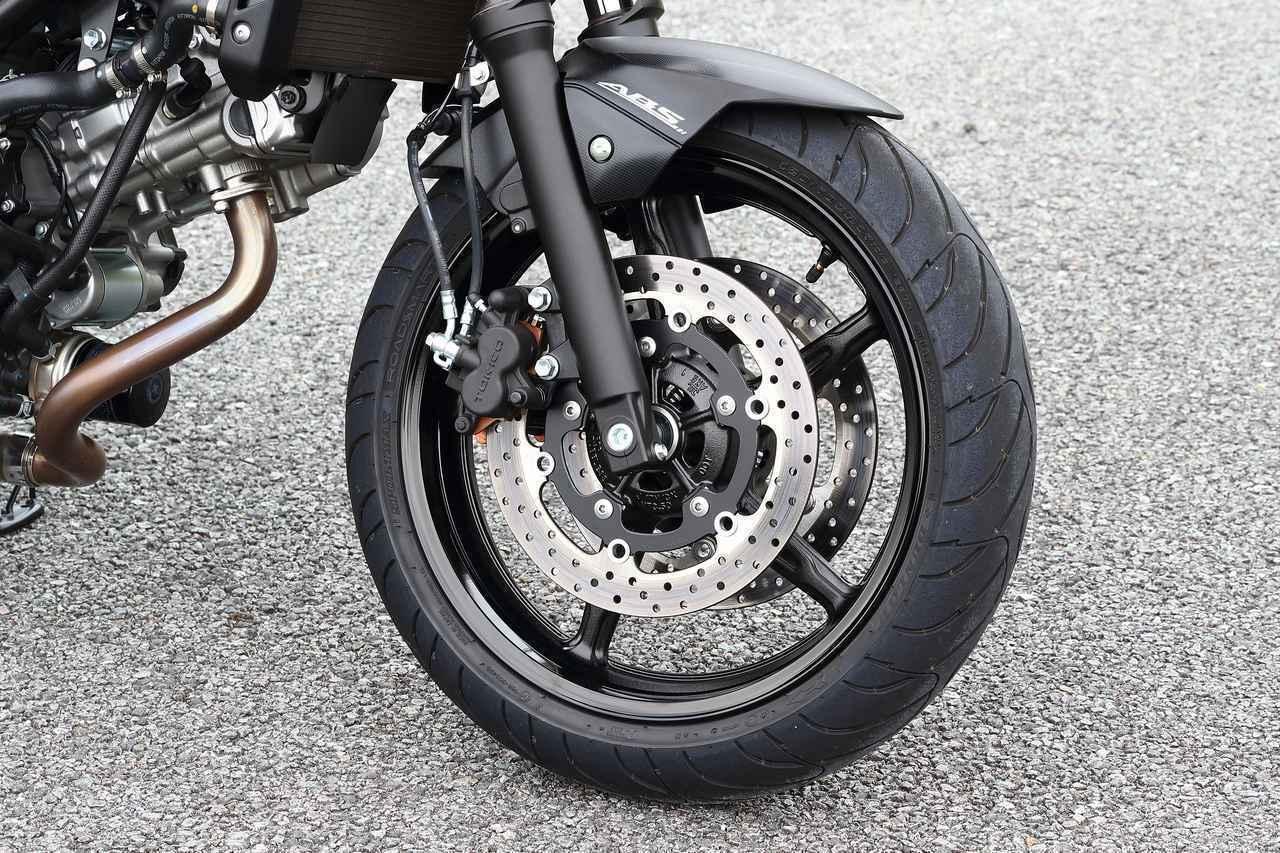 画像2: 前より評価が高くなってる? スズキの大型バイクでいちばん売れてる『SV650』と『SV650X』を並べて乗ってみた!【SUZUKI SV650/SV650X 比較インプレ・中編】