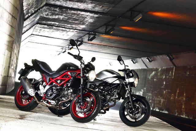 画像: 違いを比較! スズキの大型バイク『SV650』と『SV650X』はどっちがおすすめ? - スズキのバイク!