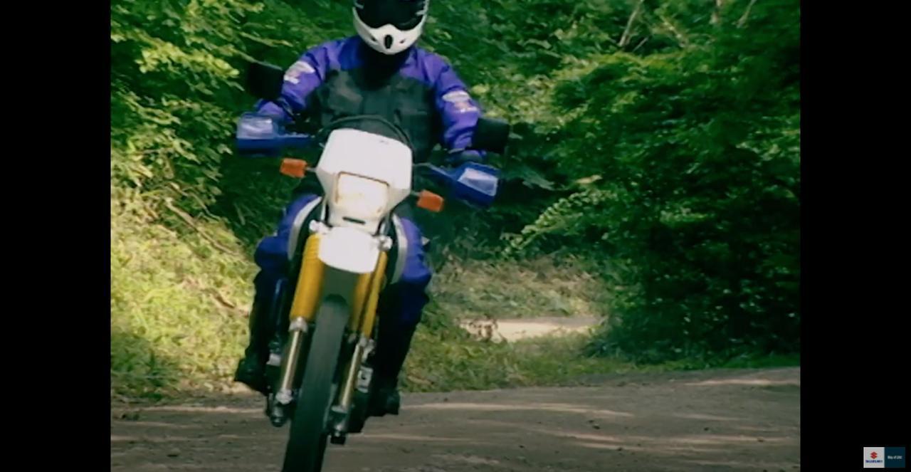 画像3: 40mmシート高を調整できたガチの『デカいオフロードバイク』