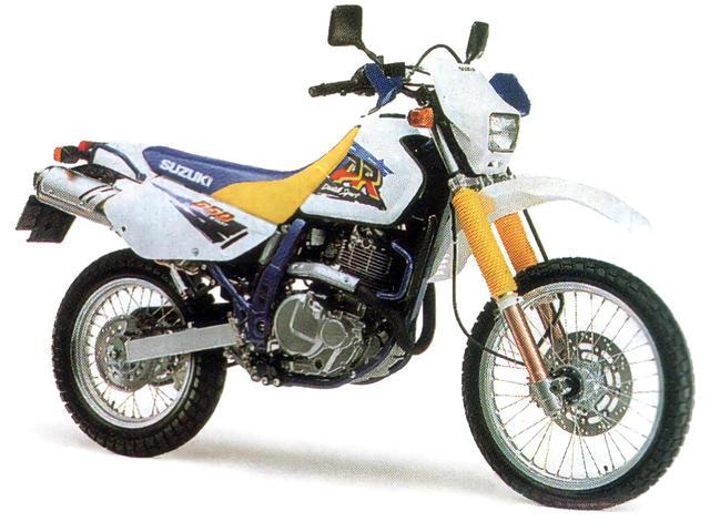 画像1: 40mmシート高を調整できたガチの『デカいオフロードバイク』