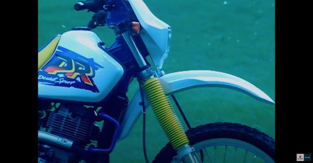 画像2: 40mmシート高を調整できたガチの『デカいオフロードバイク』