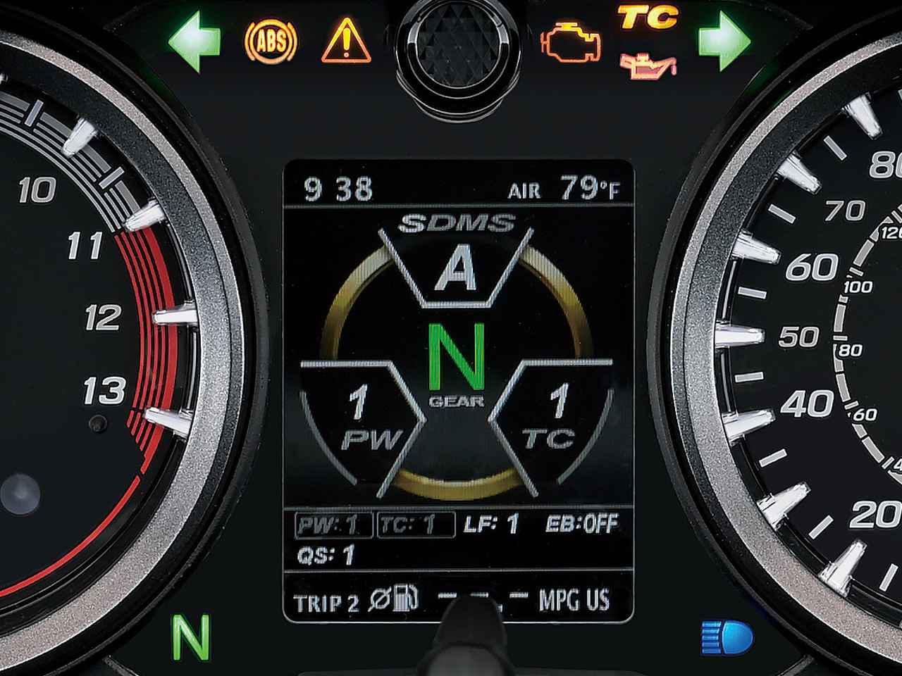 画像2: ②モーショントラック・トラクションコントロール(TC)