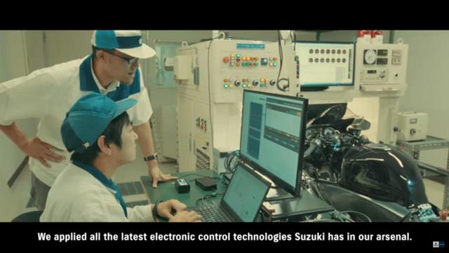 画像3: 新型『隼』は電子制御がちょっと細かい