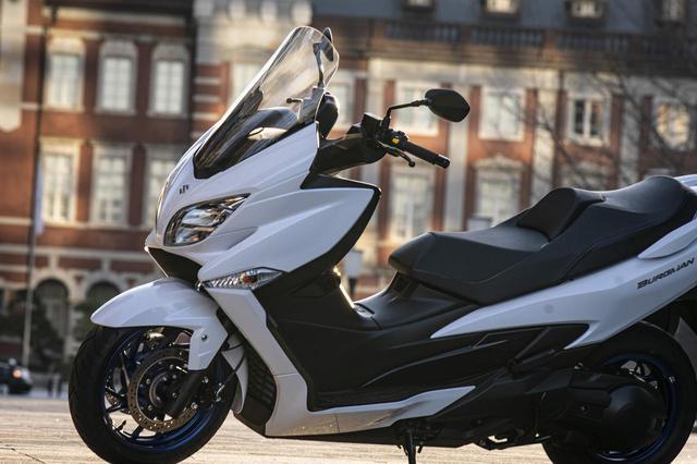 画像2: 400ccスクーター『バーグマン400』はツーリングバイク?