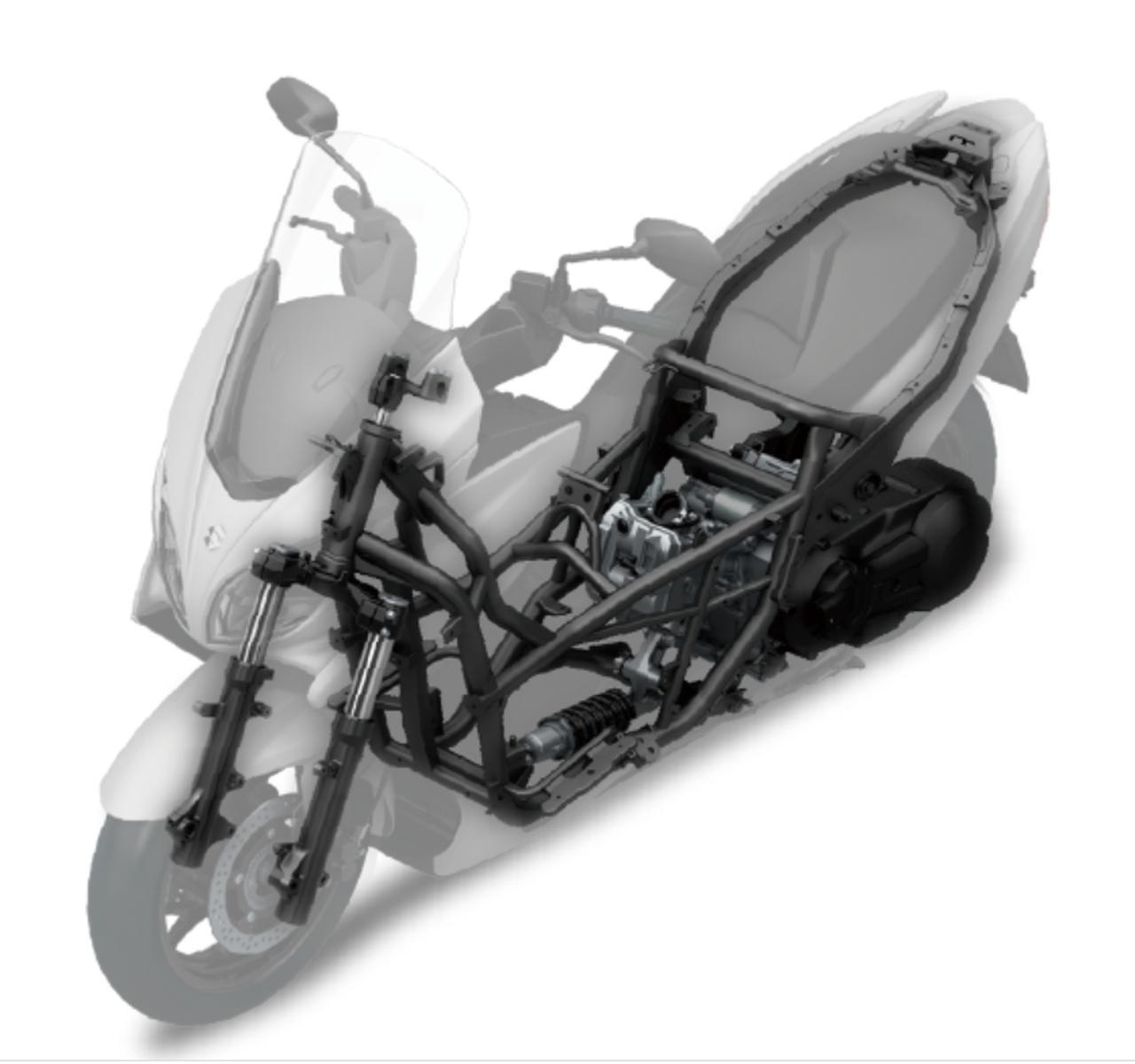 画像2: バーグマン400はスズキのバイクで最もハンドリングがおおらか