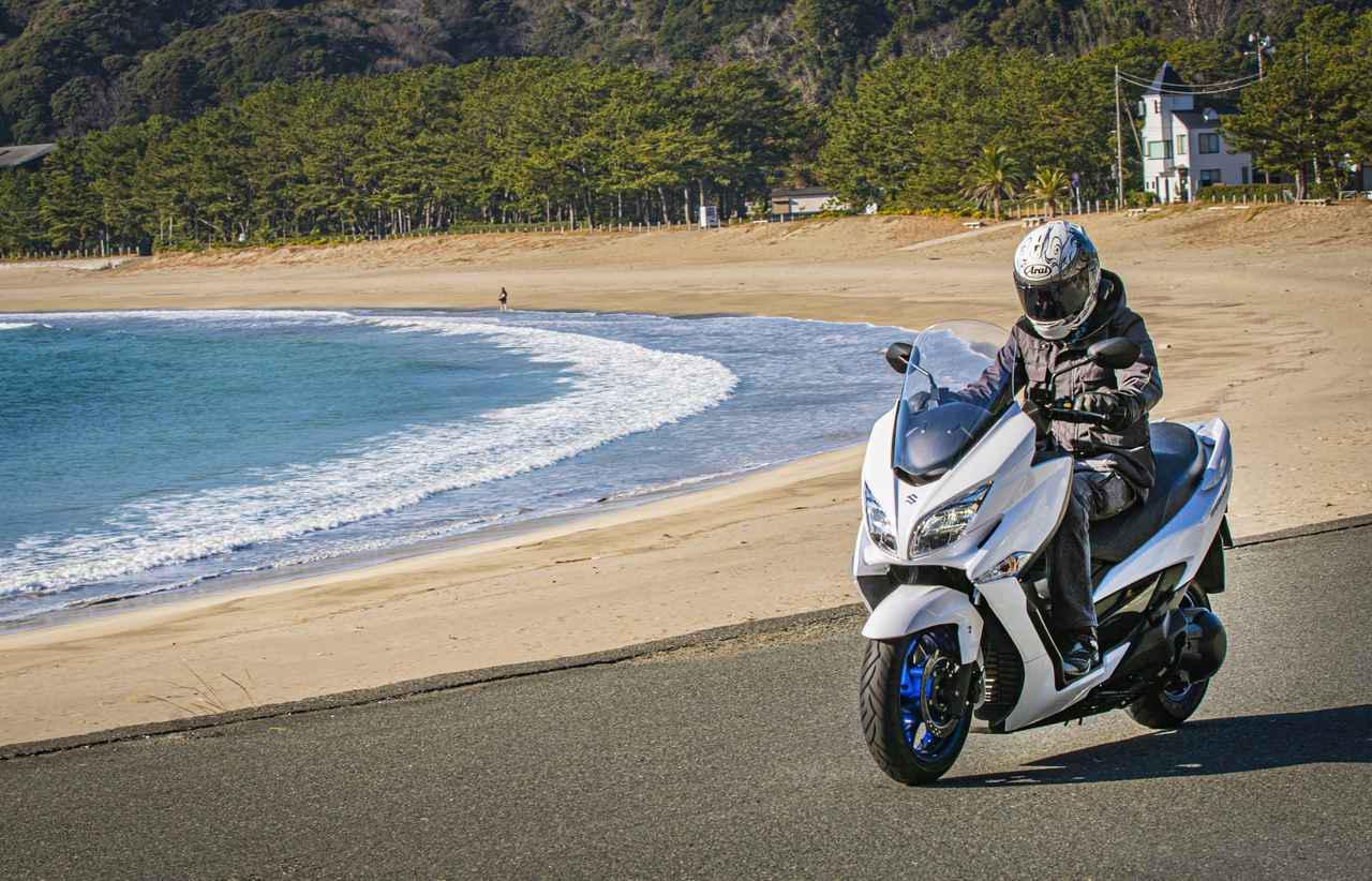 画像: 実力だけで考えると400cc以下でスズキ『バーグマン400』よりも快適なツーリングバイクは存在しないかもしれない【SUZUKI BURGMAN400/試乗インプレ 後編】