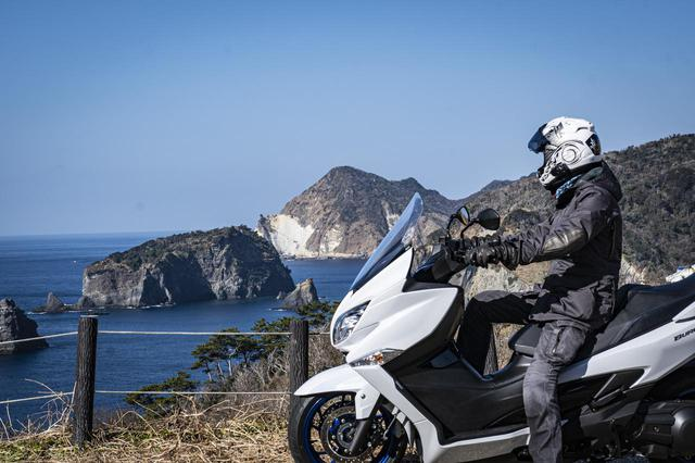 画像2: バイクを『旅の道具』として捉えるならバーグマン400はおすすめできる
