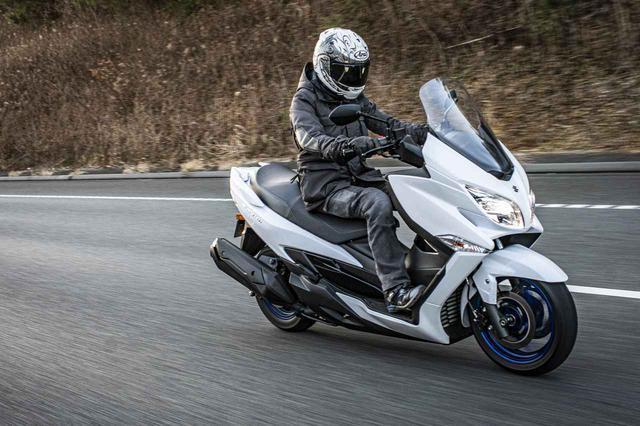 画像3: バイクを『旅の道具』として捉えるならバーグマン400はおすすめできる