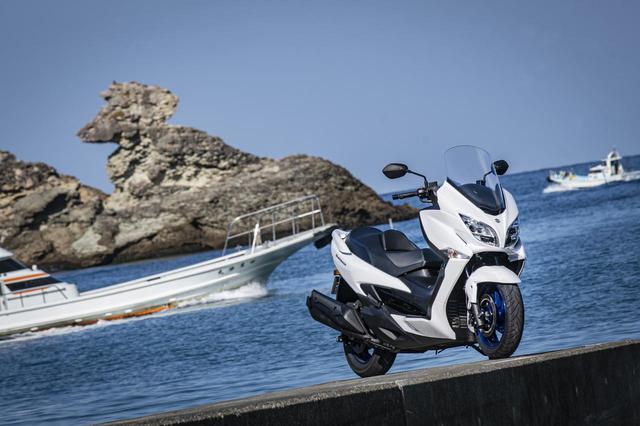 画像1: バイクを『旅の道具』として捉えるならバーグマン400はおすすめできる