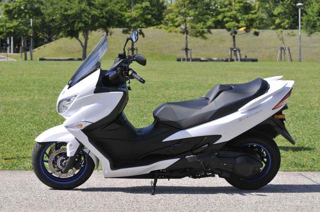 画像2: スズキの400ccスクーター『バーグマン400(2020)』を解説します!