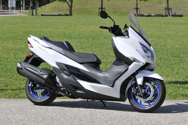 画像1: スズキの400ccスクーター『バーグマン400(2020)』を解説します!