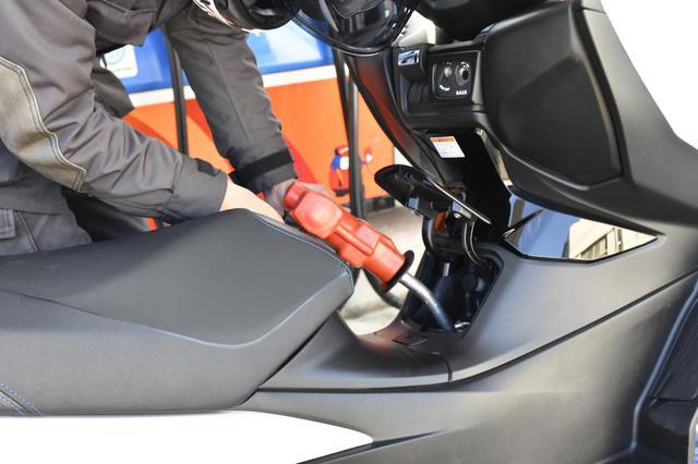 画像: スズキ『バーグマン400』で実際に走ってみた燃費は?