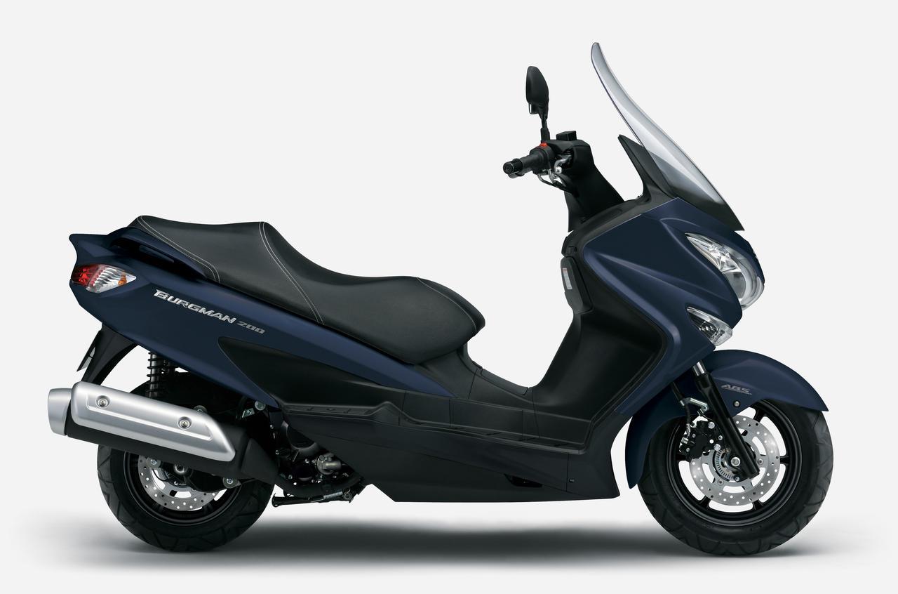 Images : 4番目の画像 - 【写真6枚】スズキ「バーグマン200」2021年モデル - webオートバイ