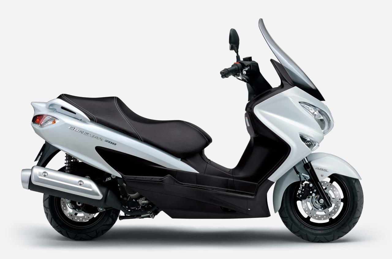 Images : 6番目の画像 - 【写真6枚】スズキ「バーグマン200」2021年モデル - スズキのバイク!- 新車情報や最新ニュースをお届けします