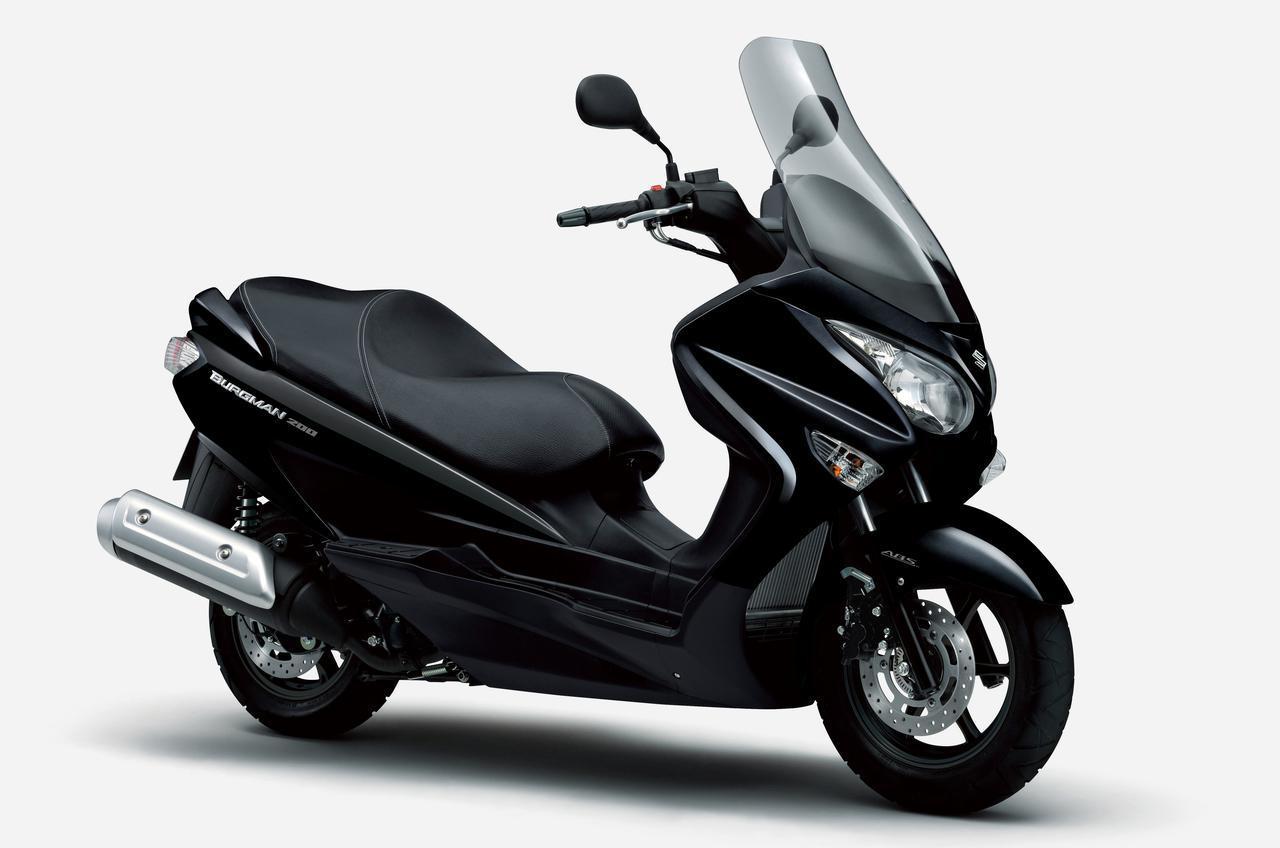 画像1: 【新車】ライバルは原付二種 or 150ccスクーター? スズキ『バーグマン200』が2021年モデルでABS装備となりました!価格と発売日は?【SUZUKI/BURGMAN200 ABS】