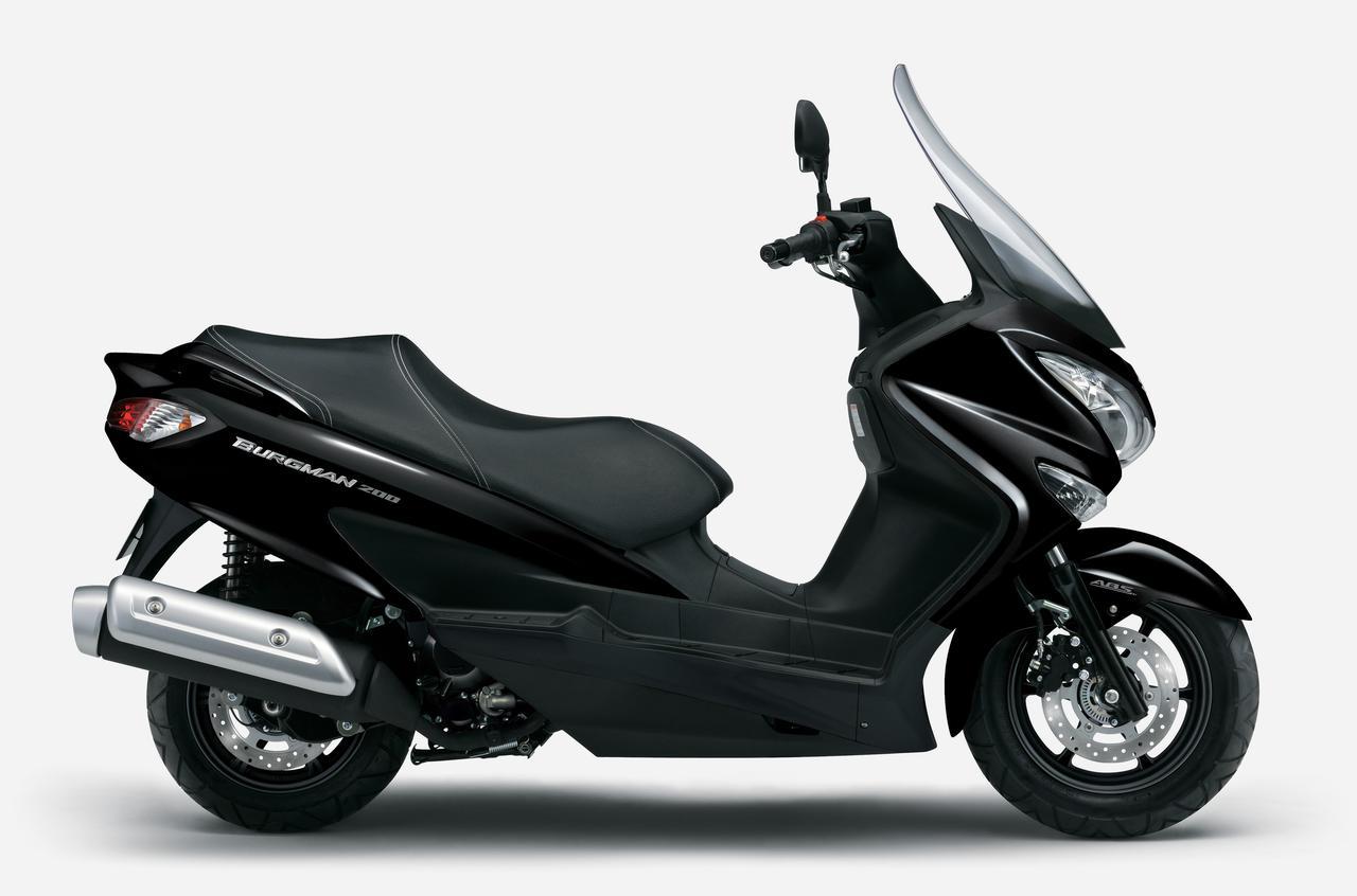 Images : 2番目の画像 - 【写真6枚】スズキ「バーグマン200」2021年モデル - webオートバイ