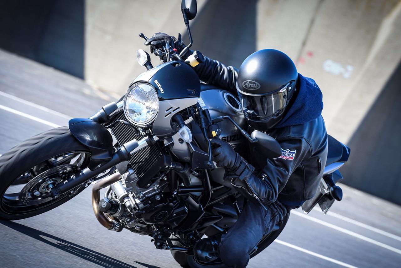 画像: お洒落バイクっぽいスズキ『SV650X』は、実のところ峠で後ろにつかれたくないバイクでもあったりする! - スズキのバイク!