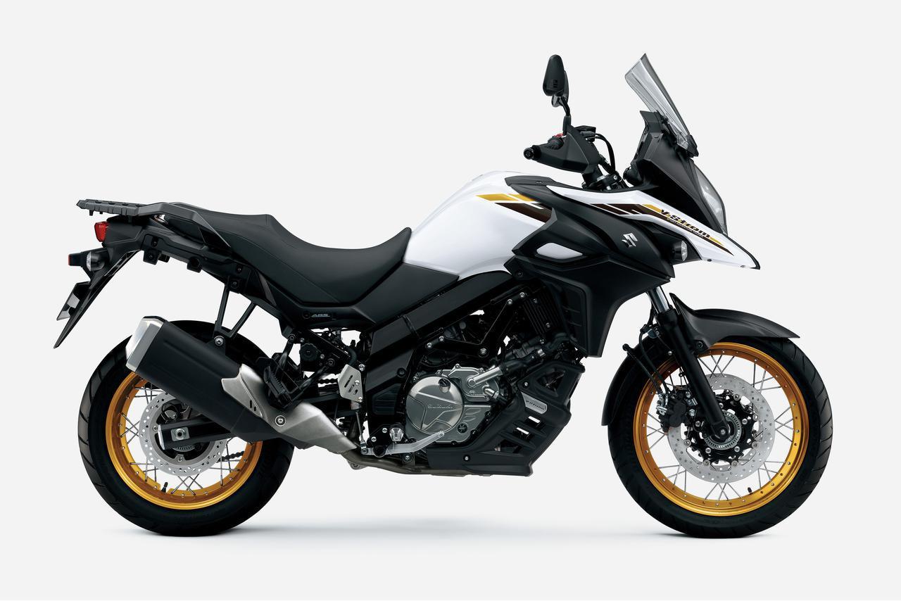 画像1: 【新車】クラスを超えすぎの650ccアドベンチャーバイク! スズキ『Vストローム650/XT』が2021年モデルとしてカラーチェンジ。価格と発売日は?【SUZUKI V-Strom650/XT】