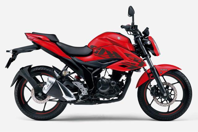 画像2: もう完全に150ccのバイクには見えない……