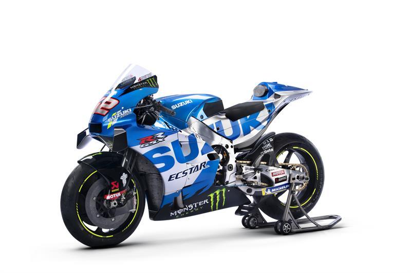 Images : 6番目の画像 - 「最高出力240馬力以上! スズキがモンスターエナジーとタッグを組んだ新型『GSX-RR』を初公開。全方位じっくりお見せします!【100%スズキ贔屓のバイクレース⑭/MotoGP 2021】」のアルバム - webオートバイ
