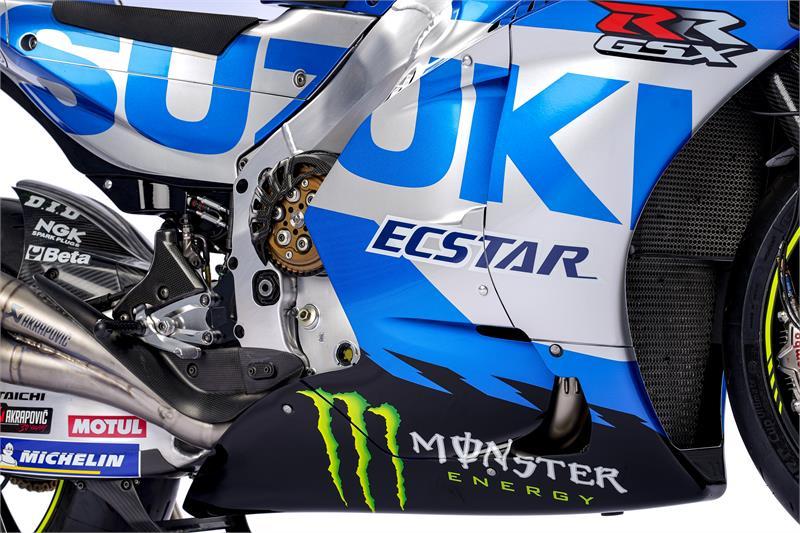 Images : 10番目の画像 - 「最高出力240馬力以上! スズキがモンスターエナジーとタッグを組んだ新型『GSX-RR』を初公開。全方位じっくりお見せします!【100%スズキ贔屓のバイクレース⑭/MotoGP 2021】」のアルバム - webオートバイ