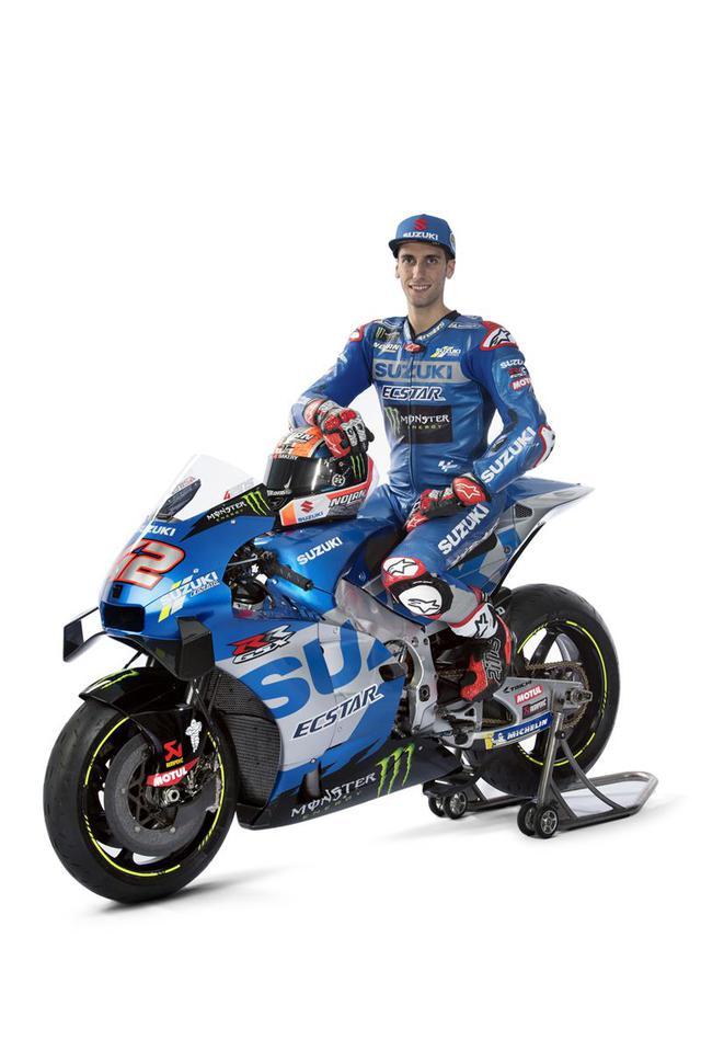 画像1: 最高出力240馬力以上! スズキがモンスターエナジーとタッグを組んだ新型『GSX-RR』を初公開。全方位じっくりお見せします!【100%スズキ贔屓のバイクレース⑭/MotoGP 2021】