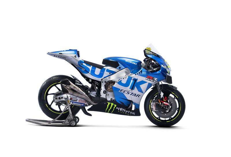 Images : 5番目の画像 - 「最高出力240馬力以上! スズキがモンスターエナジーとタッグを組んだ新型『GSX-RR』を初公開。全方位じっくりお見せします!【100%スズキ贔屓のバイクレース⑭/MotoGP 2021】」のアルバム - webオートバイ