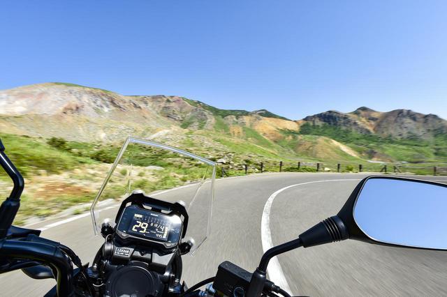 画像3: 250ccクラスで『Vストローム250』以上にゆったり走れるバイクは無い