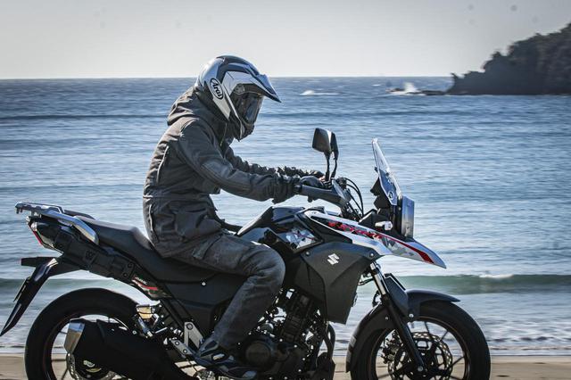 画像: Vストローム250は、250ccのバイクに見えない!