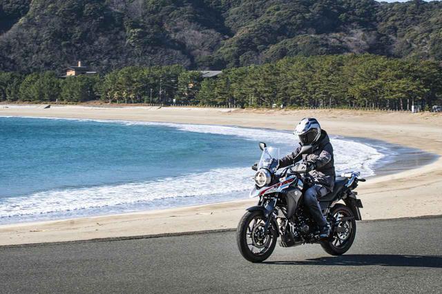 画像2: 250ccクラスで『Vストローム250』以上にゆったり走れるバイクは無い