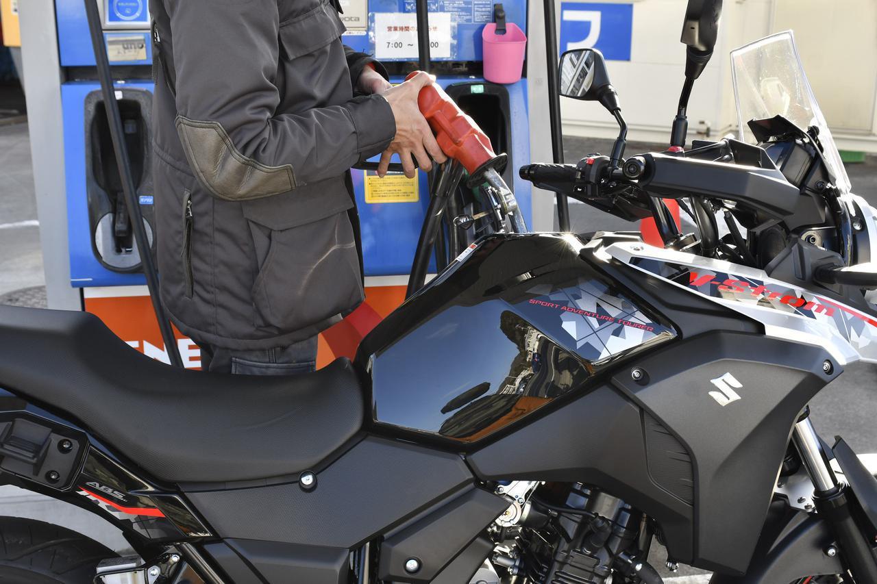 画像: スズキ『Vストローム250』で実際に走ってみた燃費は?