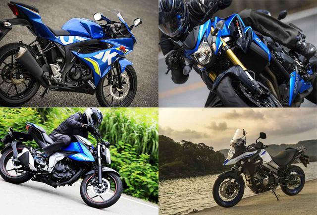 画像: 【ジャイアント・キリング】格上も戦慄する4台! スズキの『超実力派』として、大型から原付二種125ccスポーツまでおすすめバイクを厳選してみた! - スズキのバイク!