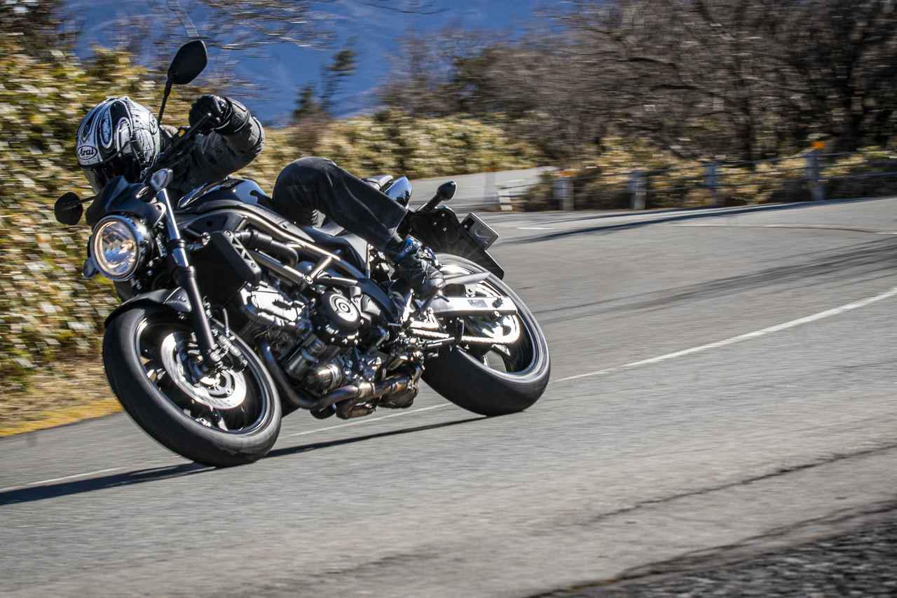 画像2: 大型バイクに乗り慣れた人も『SV650』は虜にする
