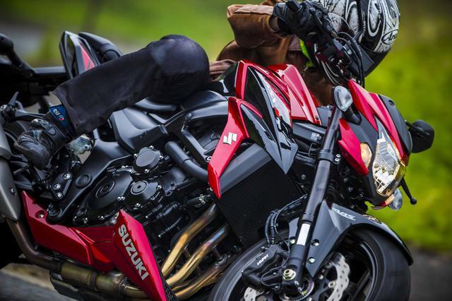 画像: 凄腕の刺客『GSX-S750』はリッターバイクの背後を狙う!  - スズキのバイク!
